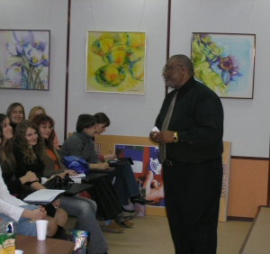 Taylor Lecturing at the Ekaterinburg Institute of International Relations Ekaterinburg Russia September 2005